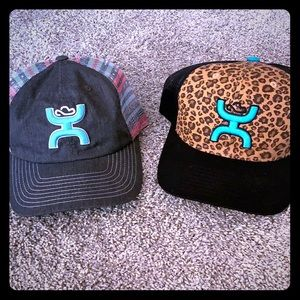 Women's Hooey Snap Back Hats Serape & Leopard